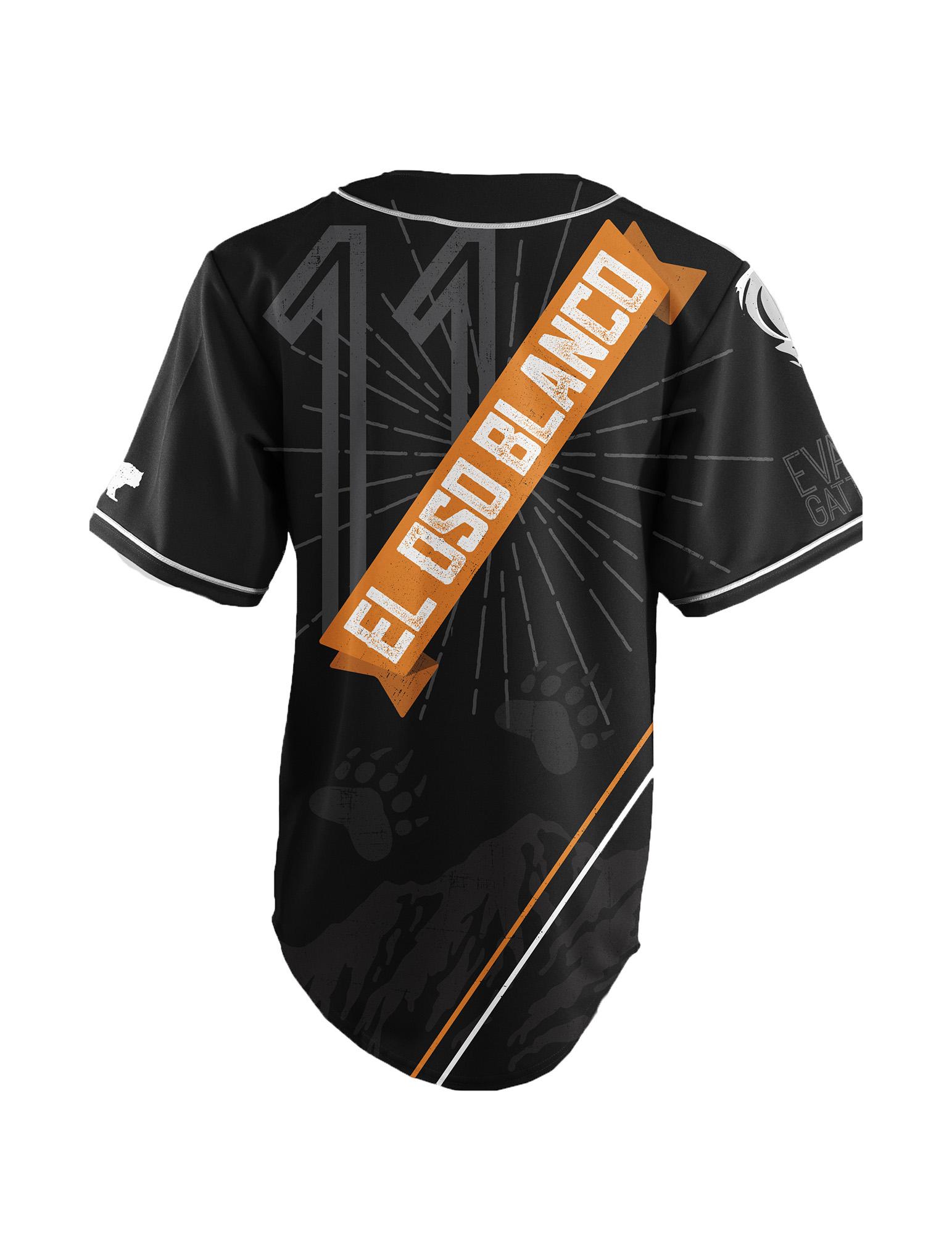 ATHLETE ORIGINALS Baseball Jersey by Evan Gattis