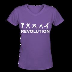 Women's V-Neck T-Shirt by Jason Belmonte