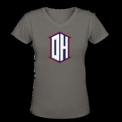 Women's V-Neck T-Shirt by DeAndre Hopkins