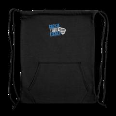 Sweatshirt Cinch Bag by DaQuan Jones
