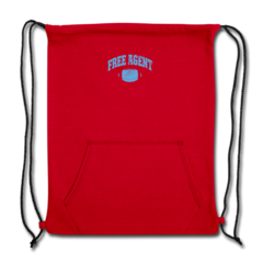 Sweatshirt Cinch Bag by Rennie Curran