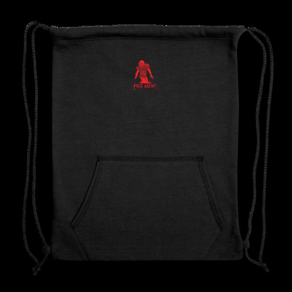 Sweatshirt Cinch Bag by Rennie Curran