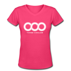 Women's V-Neck T-Shirt by Will Gholston