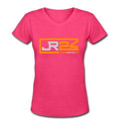 Women's V-Neck T-Shirt by John Grant Jr