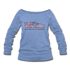 Women's Wideneck Sweatshirt by Ian James