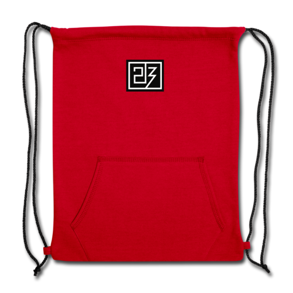 Sweatshirt Cinch Bag by Drew Snider