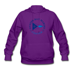 Women's Hoodie by Oyster Bay Marine Center