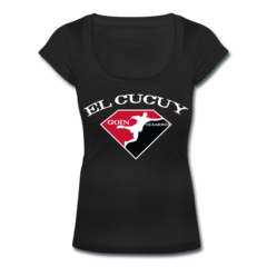 Women's Scoop Neck T-Shirt by Tony Ferguson
