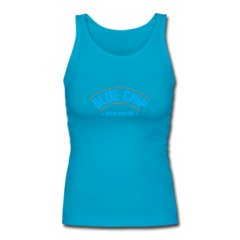 Women's Longer Length Fitted Tank by Ryan Martin