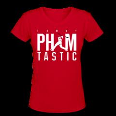 Women's V-Neck T-Shirt by Tommy Pham