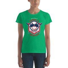 880 Ladies Ringspun Fashion Fit T-Shirt with Tear Away Label