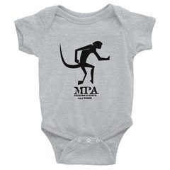 4400 Infant Baby Rib Bodysuit