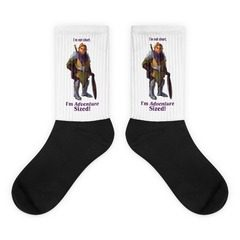 Black Foot Sublimated Socks