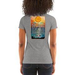 8413 Ladies' Triblend Short Sleeve T-Shirt