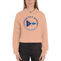 7502 Women's Fleece Crop Hoodie